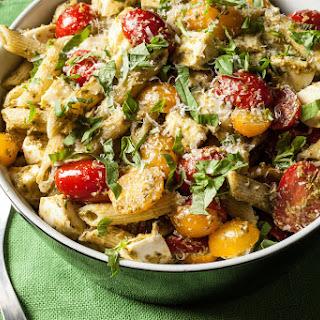 Classic Pesto Pasta Salad.