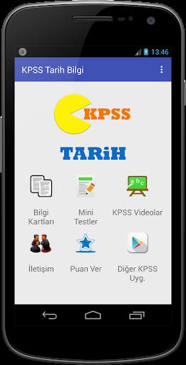 KPSS Tarih 2016 Kolay Ezber