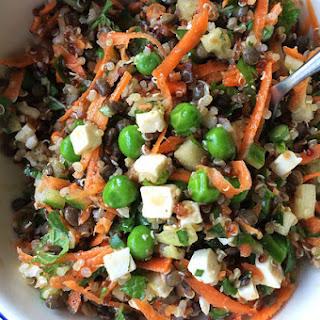 Lentil, Quinoa & Feta Summer Salad