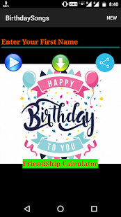 Find Birthday Songs - náhled