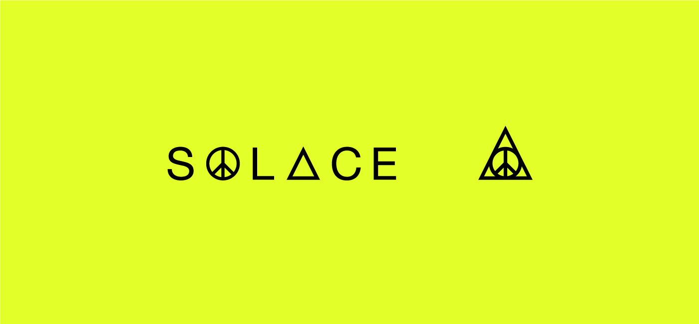 The Solace Identity Design symbol and logotype