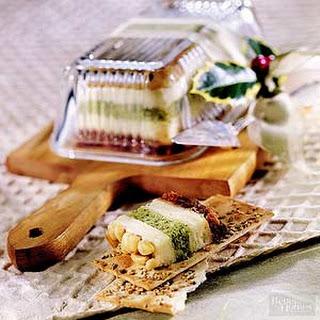 Festive Cheese Tortas Recipe