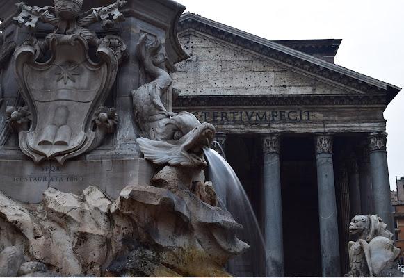 Piazza del Pantheon Roma di irina sirbu