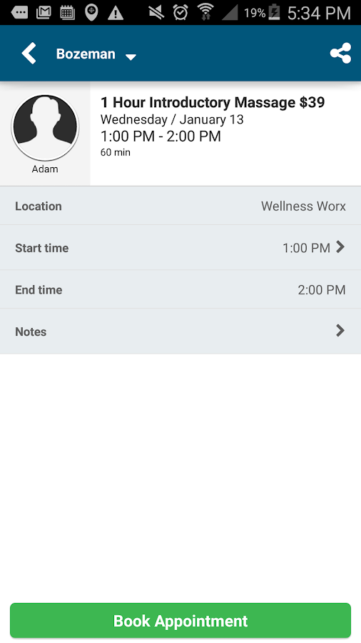 Wellness WORx Massage- screenshot