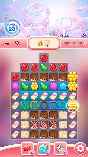 Crush the Candy: #1 Free Candy Puzzle Match 3 Game 1.0.5 screenshots 5