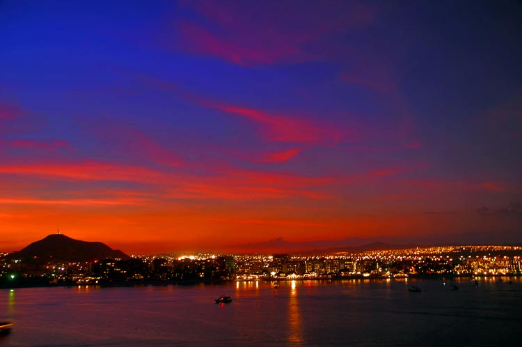When night falls, the nightlife heats up in Cabo San Lucas.