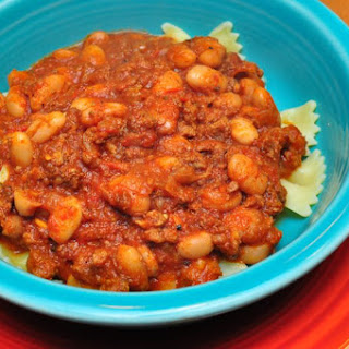 Pressure Cooker Turkey Chili with Chorizo and Pinto Beans