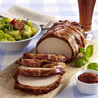 Grilled Pork Loin with Potato Salad