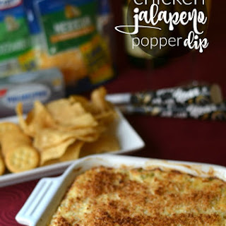 Creamy Chicken Jalapeno Popper Dip