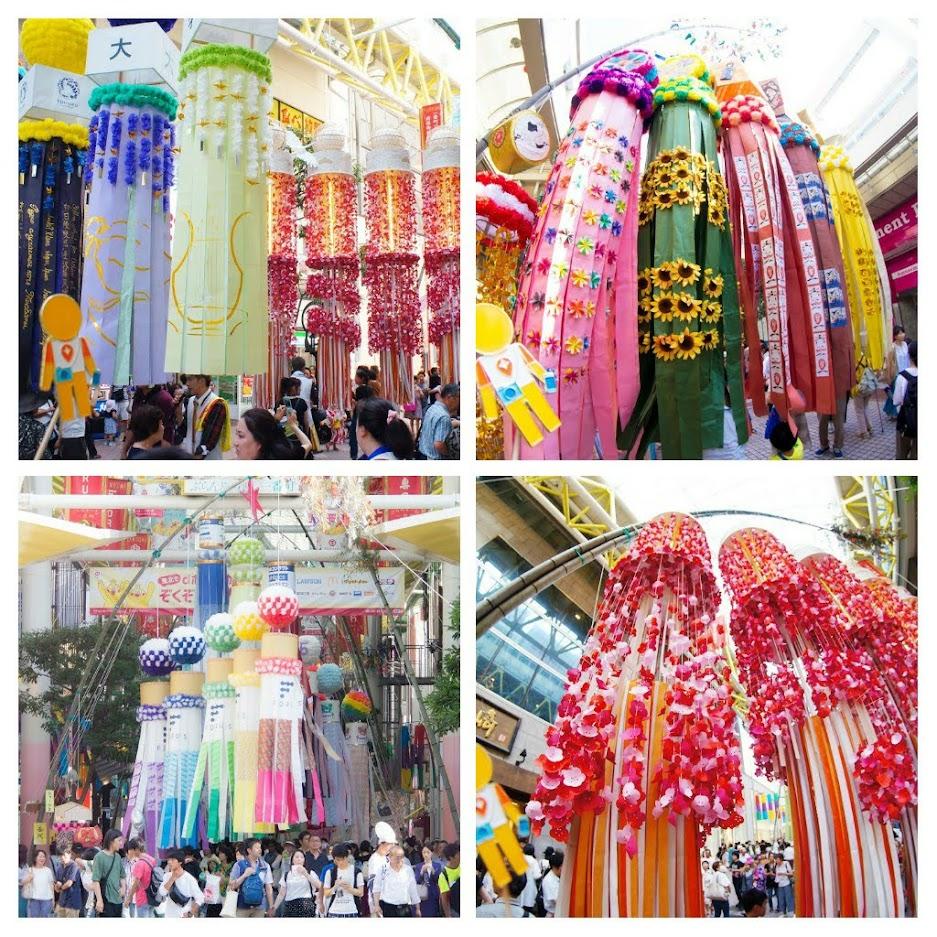Một lễ hội nghệ thuật lớn của Nhật Bản Sendai Tanabata 3