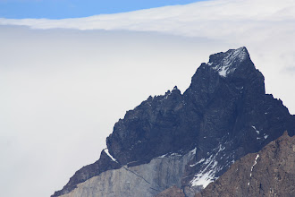 Photo: Los Cuernos with its black, granite horn-like spires