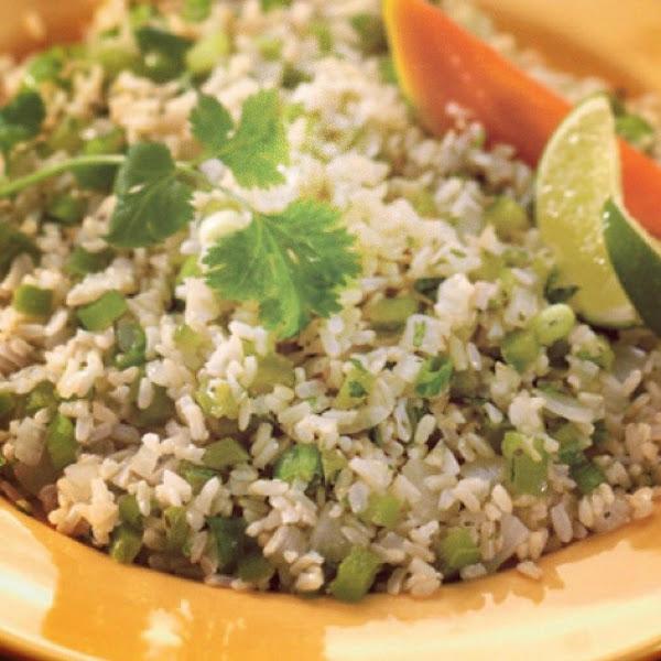 Green Chili Rice By Iris Recipe