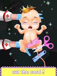 hamile Prenses Bebek Doğum Oyun Ekran Görüntüsü