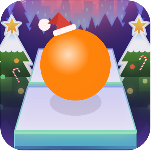 Scrolling My Ball - Christmas Zone (game)