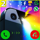 Color Flashlight Alerts: Call