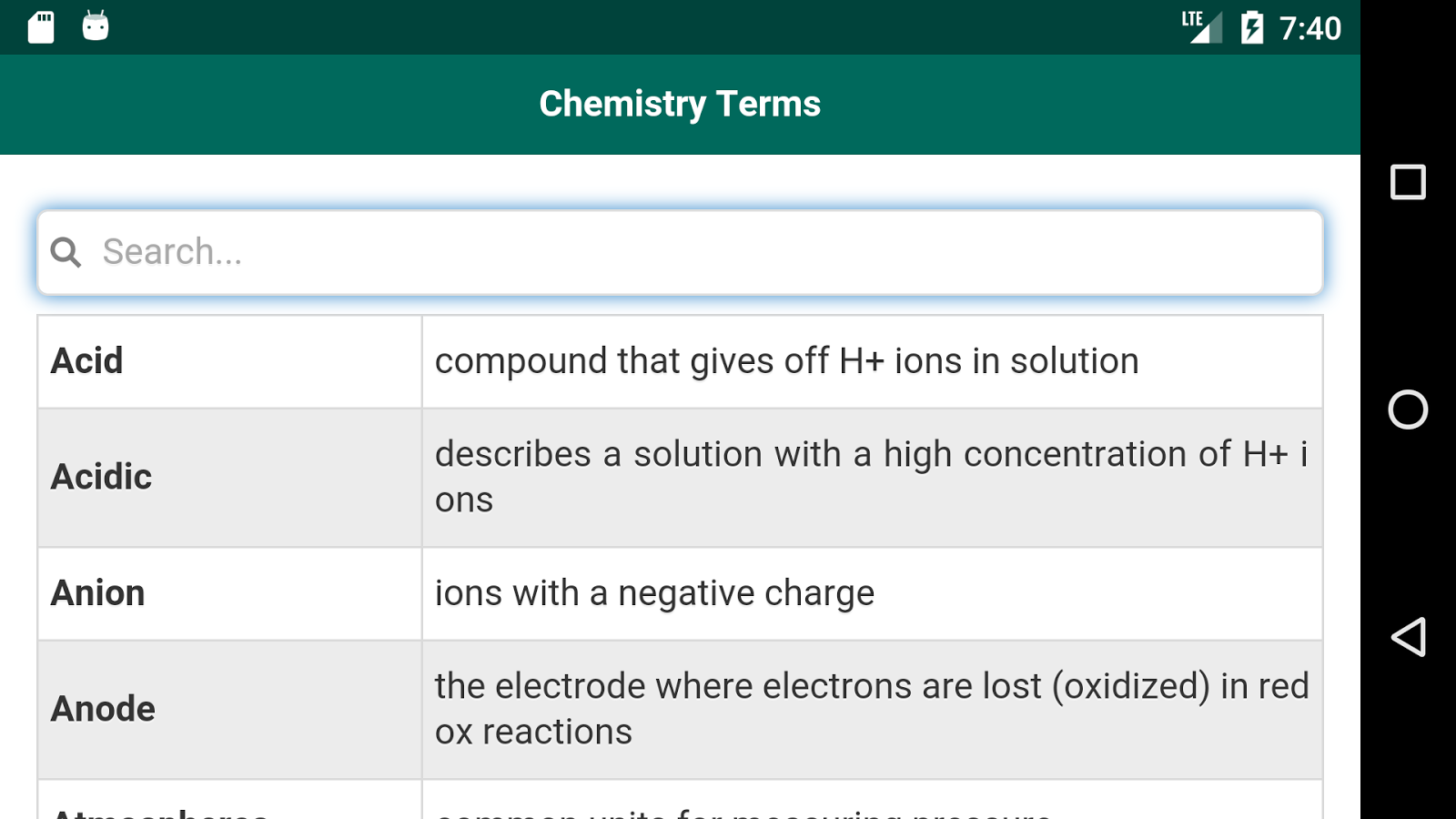 chemistry terminology Chemistry definition, the science that deals with the composition and properties of substances and various elementary forms of matter see more.