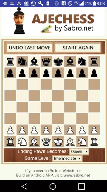 AJECHESS Ajedrez Chess FREE- screenshot