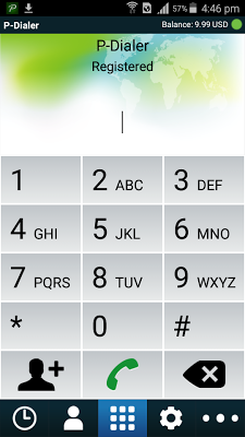 P-Dialer - screenshot