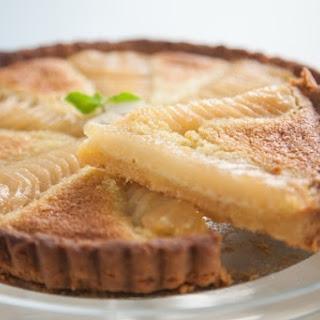 Tarte aux Poire et Amandes | Pear and Almond Tart