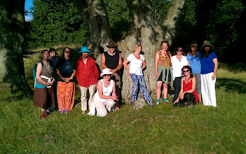 Photo: Beautiful group photo - we were all bathed in sunlight, looking like an ancient tribe....