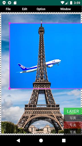 PhotoClipCP (Photo design app)  screenshots 2