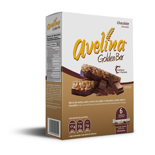 cereal avelina golden bar chocolate 156gr