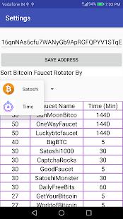 Bitcoin Faucet Rotator - náhled