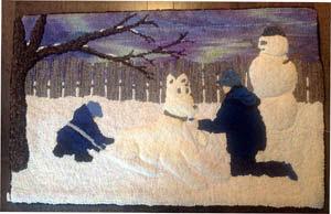 Grandkid's Snow Dog