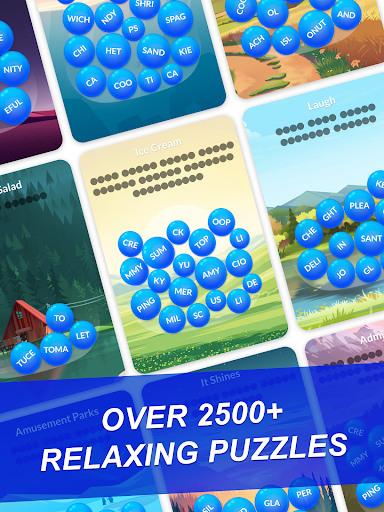 Word Serenity - Calm & Relaxing Brain Puzzle Games modavailable screenshots 11