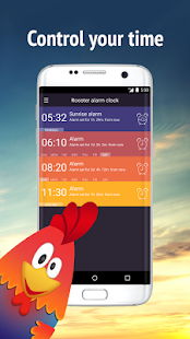 Rooster alarm clock- screenshot thumbnail