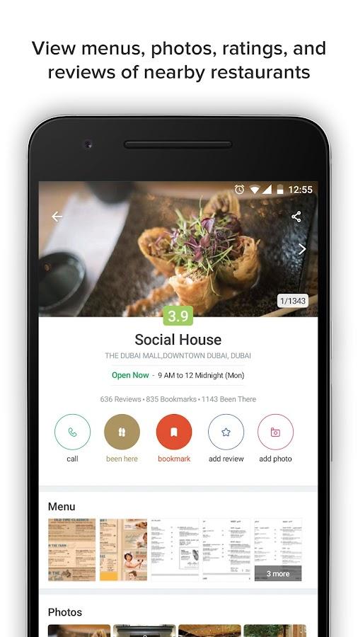 Zomato Restaurant Finder Screenshot