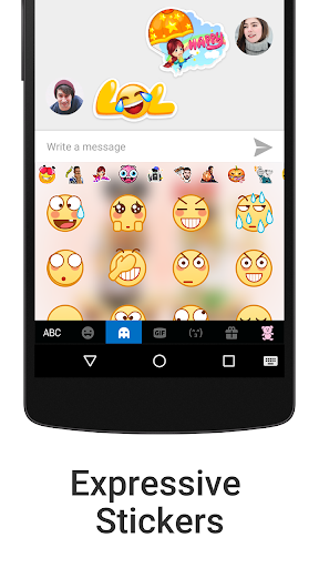 iKeyboard - emoji, emoticons for PC