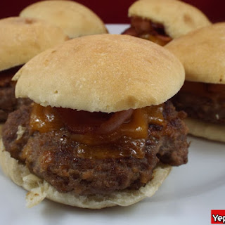 BBQ Bacon Beef Sliders.