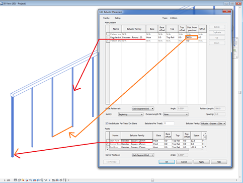 Stairs, Ramps, and Railings - Operation in Revit - Modelical