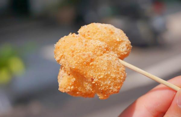 彰化美食小吃|古月館糯米炸~古早味零食,花生香氣加上糯米香,酥酥脆脆越吃越順嘴!