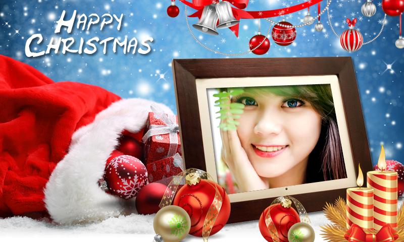 christmas photo frames new hd screenshot