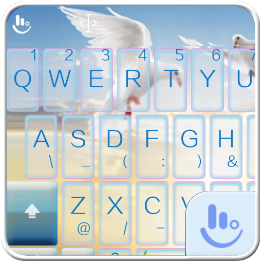 TouchPal World Peace Theme