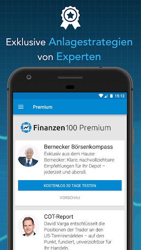 Finanzen100 - Börse, Aktien & Finanznachrichten  screenshots 6