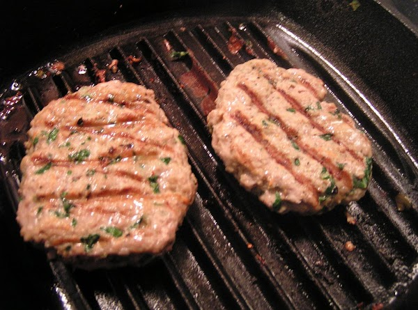 For turkey burgers, I combined about 2 tablespoons of grated carrots and 1 Bok...