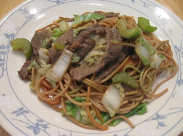 Beef And Noodle Stir Fry Recipe