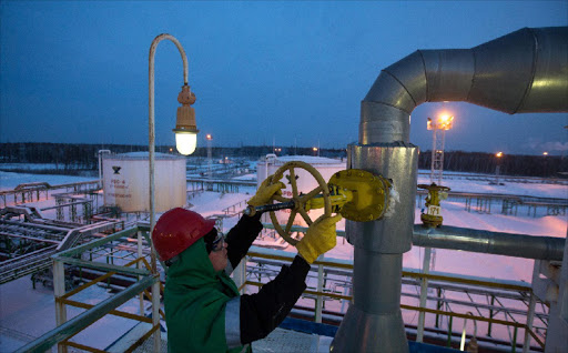 Russia gas. Picture: BLOOMBERG
