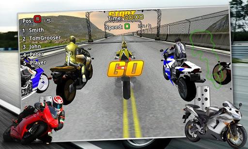 High Speed Motorbike Race 3D