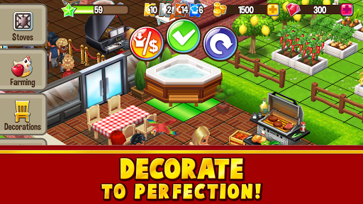 Food Street - Restaurant Management & Food Game 0.47.6 screenshots 3