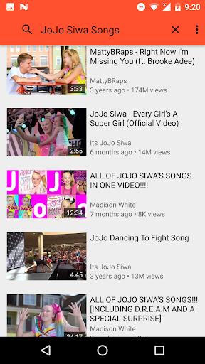 All Songs Jojo Siwa 1.0 app download 5