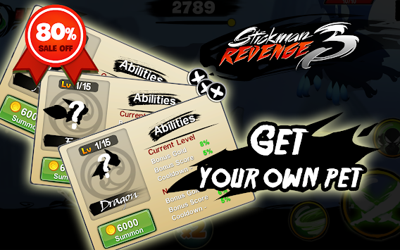Stickman Revenge 3: League of Heroes apk screenshot