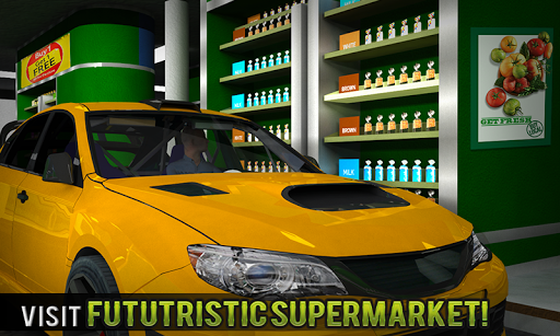 Drive Thru Supermarket: Shopping Mall Car Driving ss1