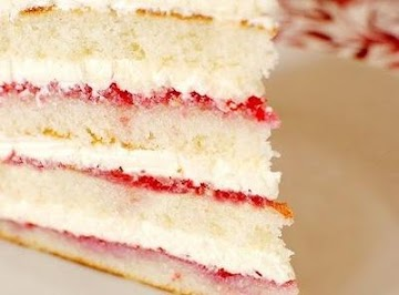 Raspberry Lemon Coconut Cake Recipe