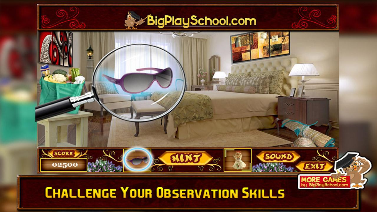 Free New Hidden Object Games My Bedroom Screenshot