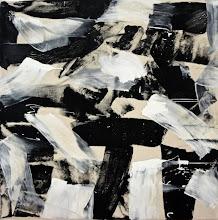 "Photo: Gate Clicks (oil on canvas) 52x52"" 2014"