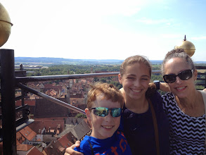 Photo: Top of the tower in Rothenburg
